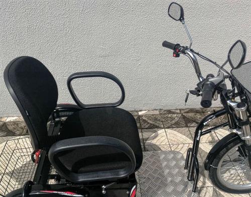 triciclo elétrico modelo advanced 700 w 36 v 24ah wind bikes