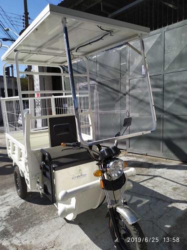 triciclo eletrico novo  com recarga solar