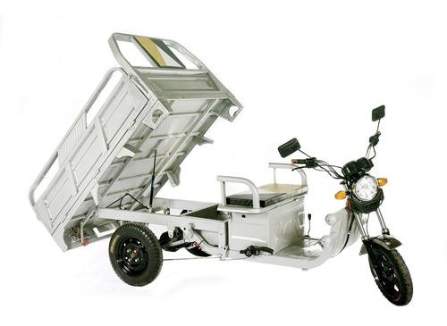 triciclo elétrico super cargo  capac. 500 kg