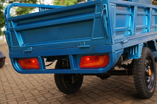 triciclo elétrico super cargo (suporta 600kg)