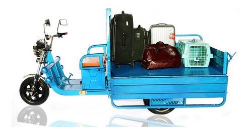 triciclo elétrico tuk  tuk super cargo (suporta 500kg)