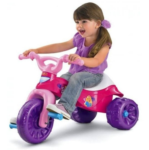 triciclo fisher price barbie original nuevo