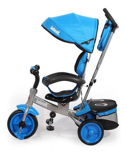 triciclo giratorio bebesit bolso barral manija capota 1881