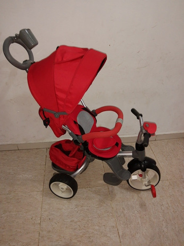 triciclo giro rojo