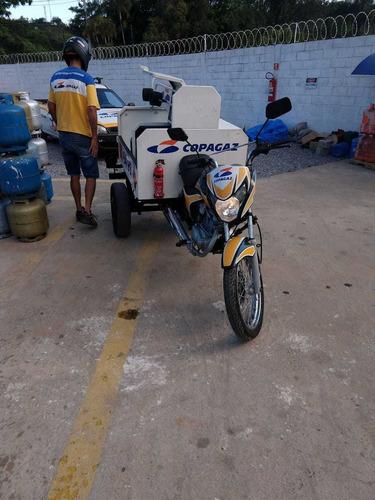 triciclo honda gás e água