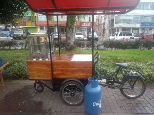 triciclo ideal para comida rápida