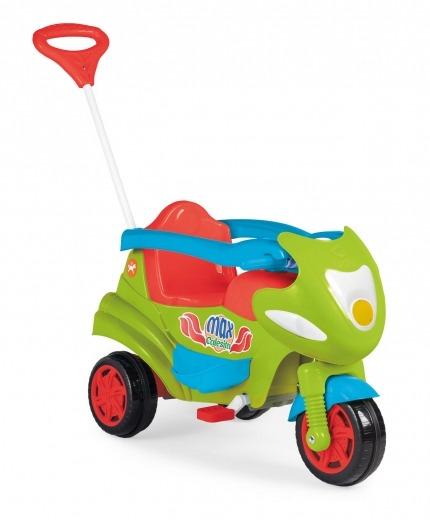 0d0c14bd22 Triciclo Infantil Calesita 2 Em 1 Com Empurrador - R  379
