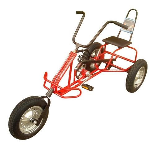 triciclo infantil com pneu a câmara de ar 85kg altmayer