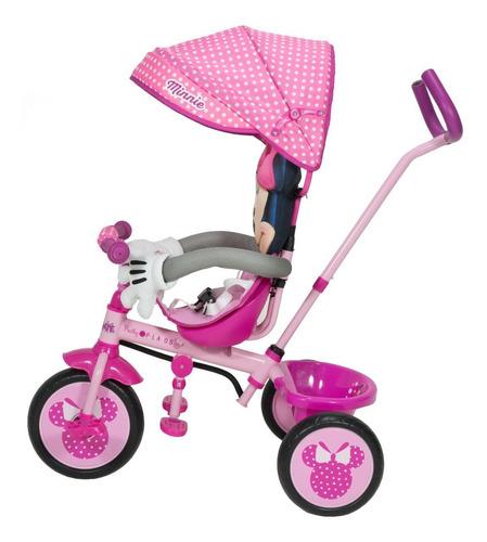 triciclo infantil disney mickey minnie xg18819
