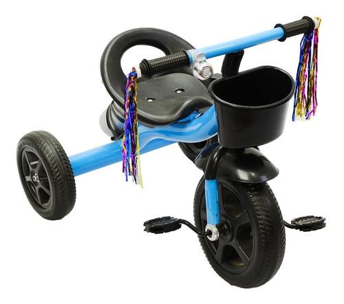 triciclo infantil ferro com garrafa e campanhia
