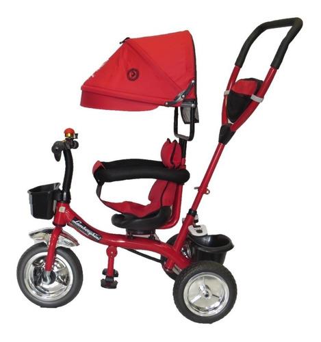 triciclo infantil manija lamborghini 360 babymovil 7085
