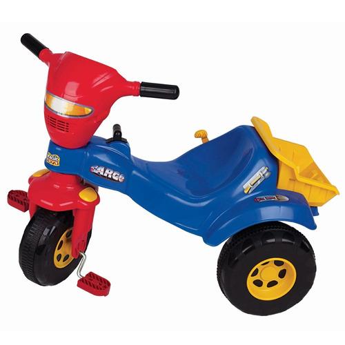 triciclo infantil menino mecanico c/ caçamba-magic toys