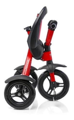 triciclo infantil metalico plegable super  reforzado +36m