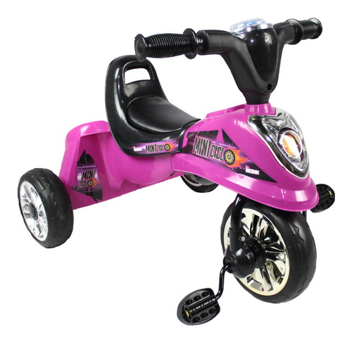 triciclo infantil miniciclo carrinho passeio bel brink c/led