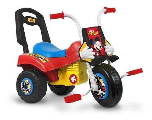 triciclo infantil moto z mickey minnie disney babymovil