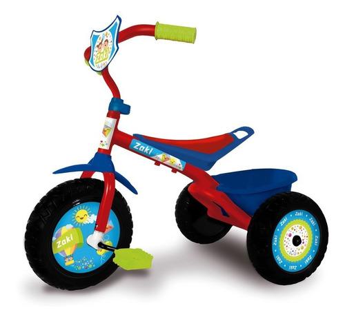 triciclo infantil niños zaki caño reforzado babymovil