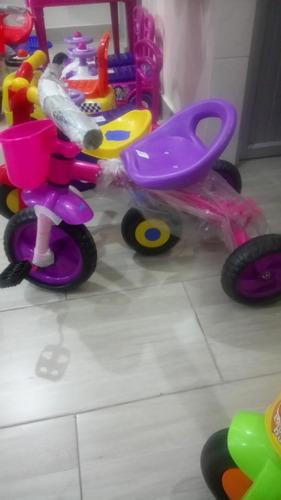 triciclo infantil  para niño y niña