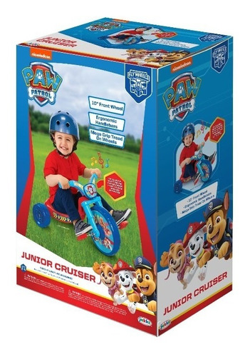 triciclo infantil paw patrol niño