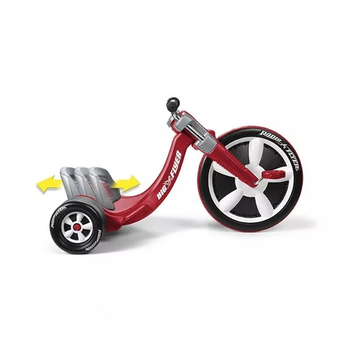 triciclo infantil radio flyer tipo drift roda grande