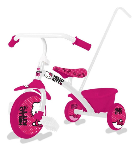 triciclo infantil reforzado zaki barra empuje babymovil full