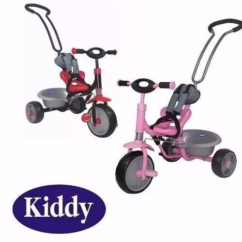 triciclo kiddy con manija direccional ktricycle girodidáctic
