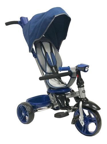 triciclo kiddy flex plegable 4 en 1 asiento 360 luz sonidos