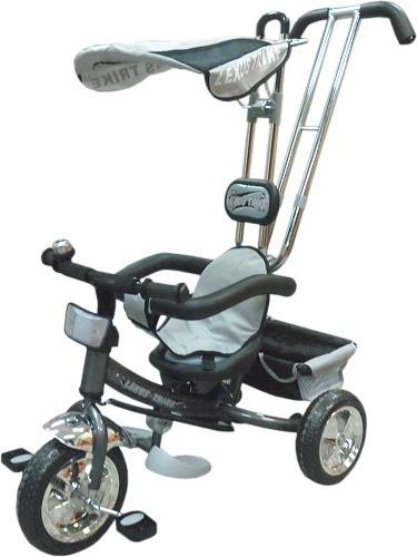 triciclo lexus duck con manija doble comando y capota