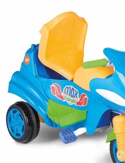28219ad9c6 Triciclo Moto 2 En 1 Max Calesita Coche Empuje Babymovil -   3.809 ...