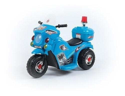 triciclo moto a bateria 3 ruedas niño 6v policia love 3006