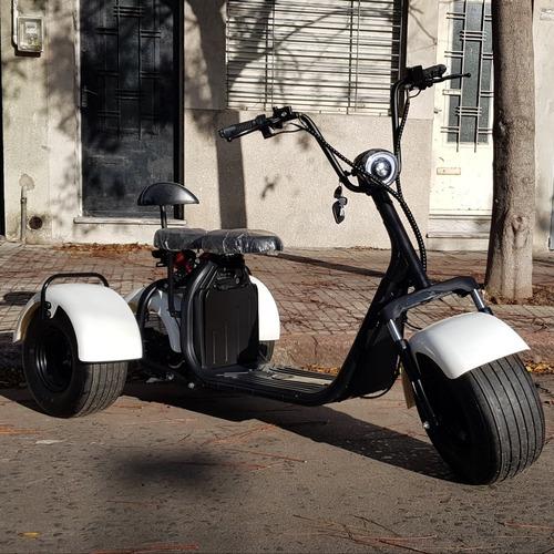 triciclo moto scooter eléctrico nuevo bateria recargable