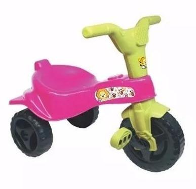 triciclo motoca infantil crianca azul vermelho rosa