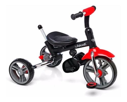 triciclo para bebe infantil plegable todo metal deluxe unico