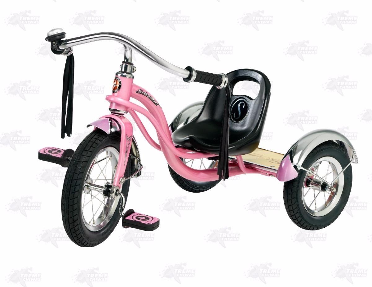 Triciclo Para Niño 12 Schwinn Roadster Trike Rosa Xtreme P ...