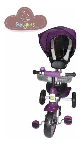 triciclo para niño/niña con protecciones