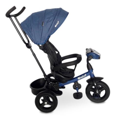 triciclo paseador asiento giratorio mp3, bluetooth y usb
