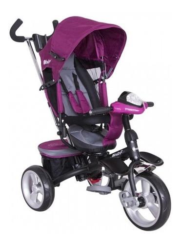 triciclo paseador con asiento giratorio ebaby
