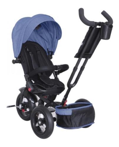triciclo paseador de lujo, llanta de aire, silla giratorio