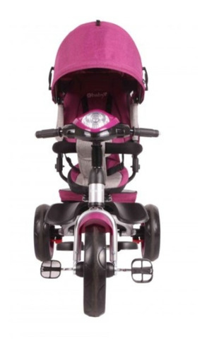 triciclo paseador, silla giratoria, musica y luz. ebaby