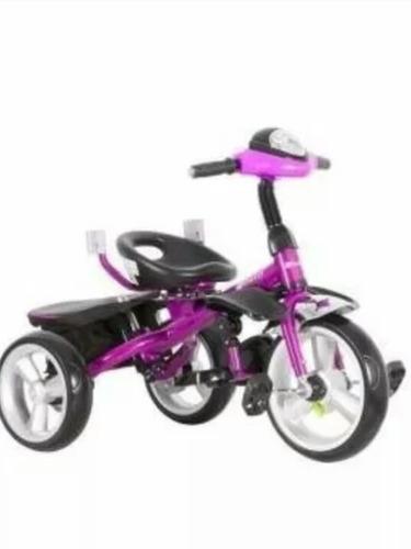 triciclo  pasiador ebaby 302 giratorio 360 grados y musical