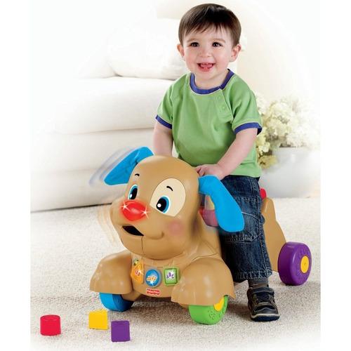 triciclo perrito para bebe  camina fisher price