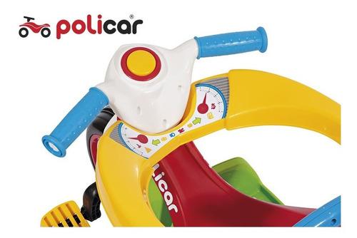 triciclo policiclo® passeio (com pedal)  - 7492
