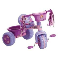 triciclo princesa sofia premium infantil velotrol multibrink