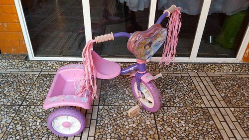 triciclo princesas disney