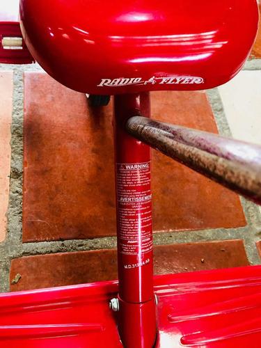 triciclo radio flyer