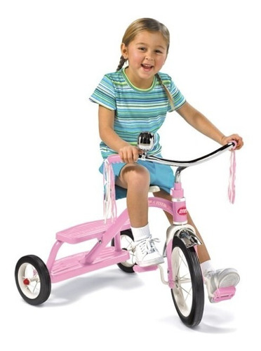 triciclo radio flyer  classic dual deck tricycle