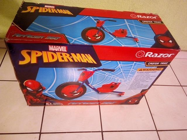 Triciclo Razor Spider-man Riprider 360 Edad 5 A 7 Años - $ 2,550.00 ...