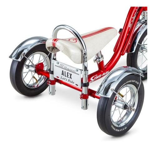 triciclo schwinn original acabado fino personaliza la placa