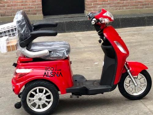 triciclo scooter electrica sunra shino / 1200w con reversa