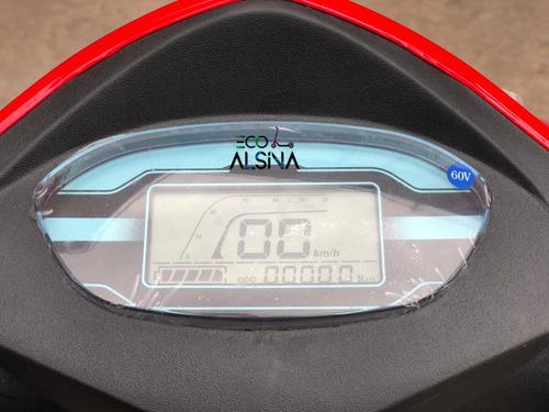 triciclo scooter eléctrico sunra shino / con reversa / golf