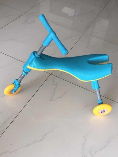triciclo sin pedales plegable para niños pequeños